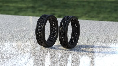 Rune Labs is Using State-of-the-Art Additive Manufacturing to Create Wedding Bands that are Stronger than Silicone, More Flexible than Metal, and Uniquely Designed to Maximize Airflow. Pre-orders available at runebands.com.