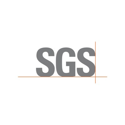 SGS Logo (PRNewsfoto/SGS India Private Limited)