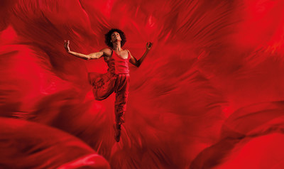 Dancer MJ Harper features in Campari's digital global campaign showing Red Passion come alive in the path to creation