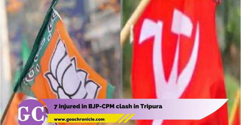 7 injured in BJP-CPM clash in Tripura