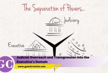 Judicial Overreach and Transgression into the Executive's Domain