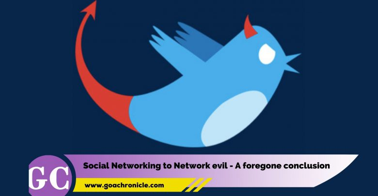 Social Networking to Network evil - A foregone conclusion