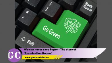We can never save Paper - The story of 'Examination Rooms'