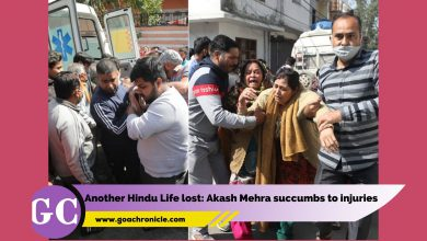 Another Hindu Life lost: Akash Mehra succumbs to injuries