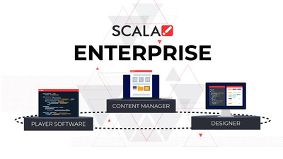 Scala Enterprise version 12.50 features enhanced workgroup management, additions to the Linux player engine, including player snapshot capabilities and support for Scala Media Player DX and Q players.