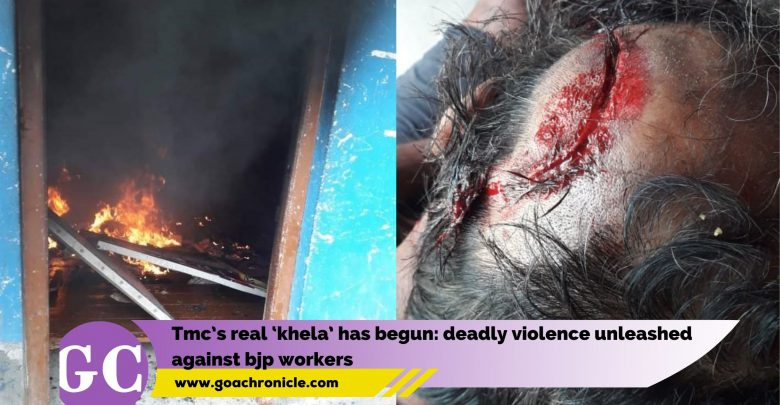 TMC's real 'Khela' has begun: deadly violence unleashed against BJP workers
