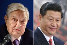 George Soros and a game of Chinese Checkers!